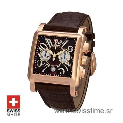 Franck Muller King Conquistador Cortez Rose Gold | Swisstime