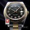 Rolex Datejust II 2Tone Black Arabic