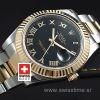 Rolex Datejust II 2Tone Black Roman-1380