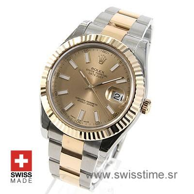 Rolex Datejust II 2Tone Gold-1386