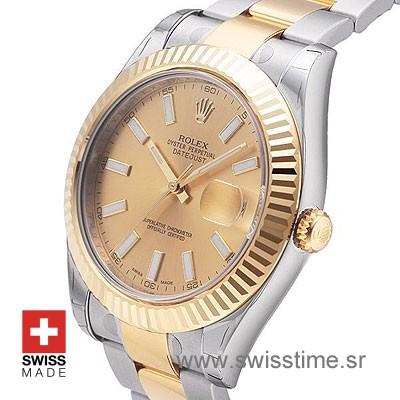 Rolex Datejust II 2Tone Gold-1385