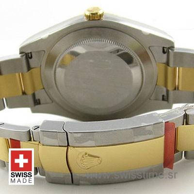 Rolex Datejust II 2Tone Gold Diamonds-1393