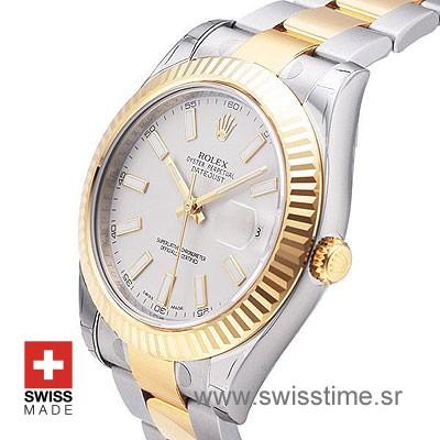 Rolex Datejust II 2Tone White-1403