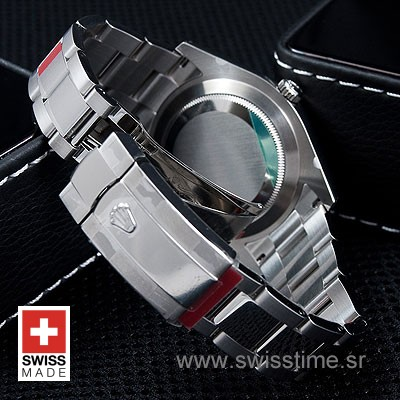 Rolex Datejust II SS Black-1411