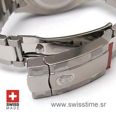 Rolex Datejust II SS Black-1413