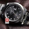 Rolex Datejust II SS Black Diamonds-1424