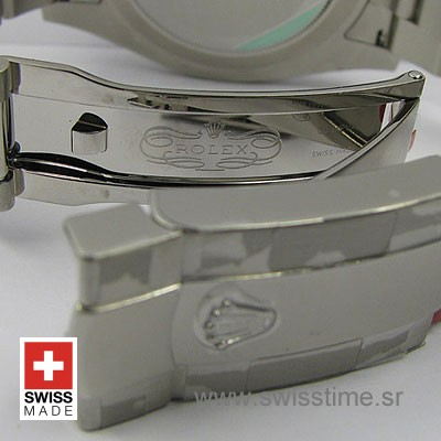 Rolex Datejust II SS Silver Diamonds-1460