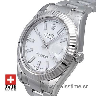 Rolex Datejust II SS White-1469