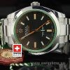 Rolex Oyster Perpetual Milgauss Green   Exact Replica Watch