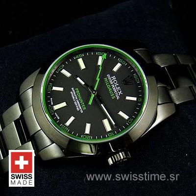 Rolex Milgauss Green Green PVD-1490
