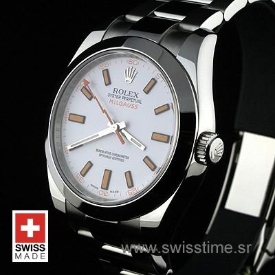 Rolex Milgauss White-1512
