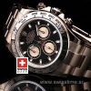 Rolex Daytona Rose Gold Black Dial | Luxury Replica Watch