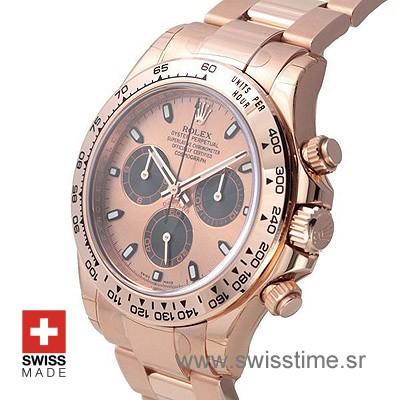 Rolex Cosmograph Daytona Rose Gold | Swiss Replica Watch