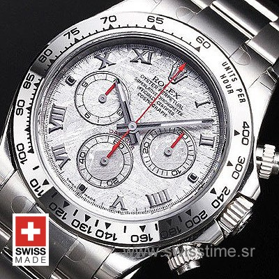 Rolex Daytona SS Meteorite Swiss Replica 40mm