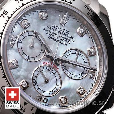 Rolex Cosmograph Daytona White Dial | Diamond Replica Watch