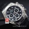 Rolex Daytona Black Dial Diamonds   Swisstime Replica Watch