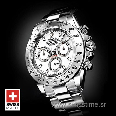 Rolex Daytona Cosmograph White Dial | Exact Replica Watch