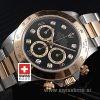 Rolex Daytona 2Tone Black Diamonds-1529