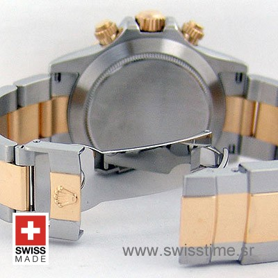 Rolex Cosmograph Daytona 2 Tone   Gold Swiss Replica Watch