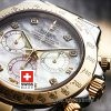 Rolex Daytona Two Tone white Diamonds dial | Swisstime Watch