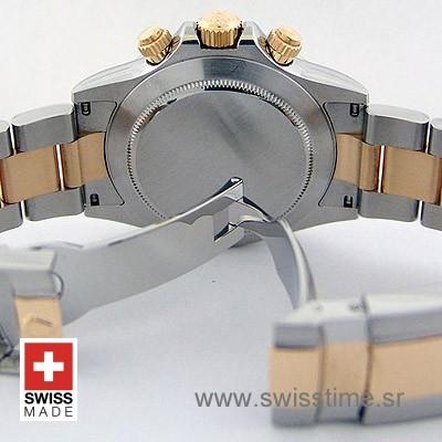 Rolex Daytona Two Tone Grey Dial   Swisstime Replica Watch