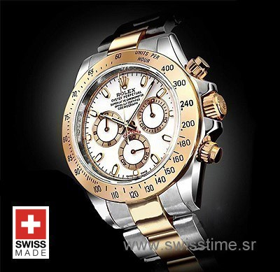 Rolex Daytona White Swiss Replica