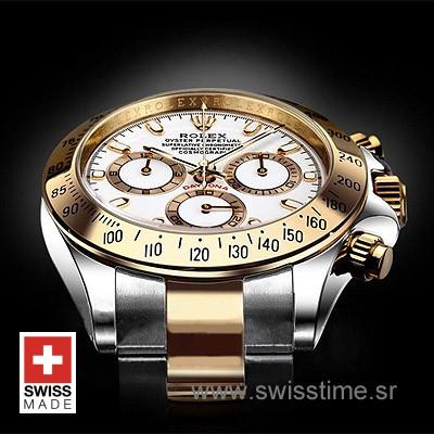 Rolex Daytona White Swiss Replica
