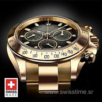 Rolex Daytona Gold Black-1588