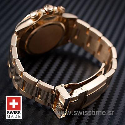 Rolex Daytona Gold Black Diamonds-1596