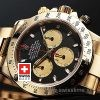 Rolex Cosmograph Daytona Gold Blue Dial | Swisstime Watch