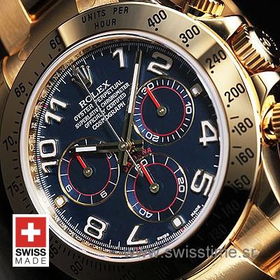 Rolex Daytona Gold Blue-1608