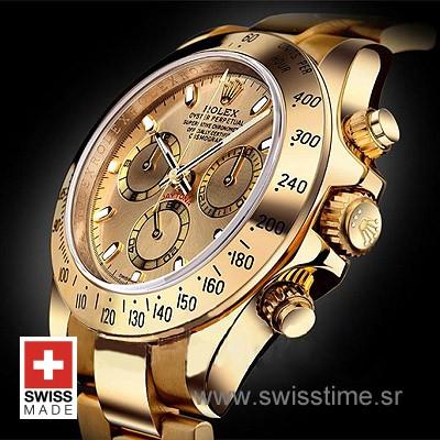 Rolex Daytona Gold Gold-1613