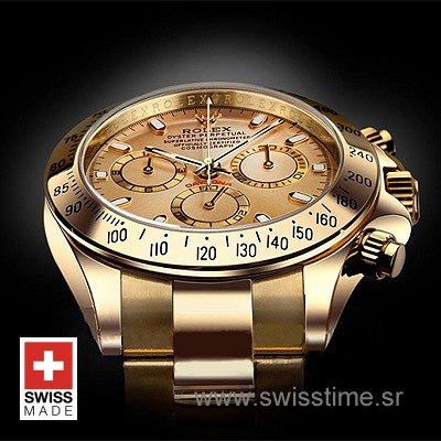 Rolex Daytona Gold Gold-1614