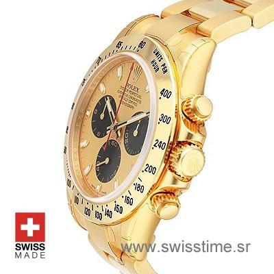 Rolex Cosmograph Daytona | 18k Yellow Gold Replica Watch