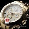 Rolex Daytona Gold White-1632