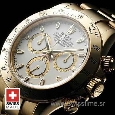 Rolex Daytona Gold White-1632