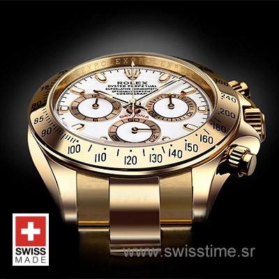 Rolex Daytona Gold White-1631