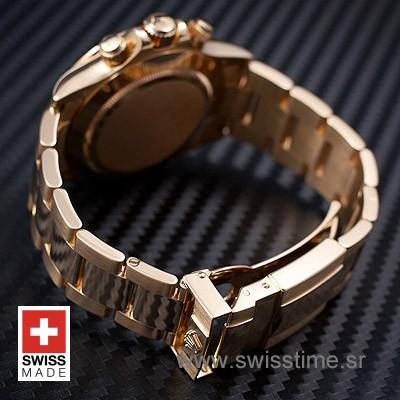 Rolex Daytona Yellow Gold White Dial | Luxury Replica Watch