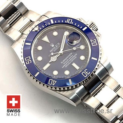 Rolex Submariner SS Blue Ceramic-1858