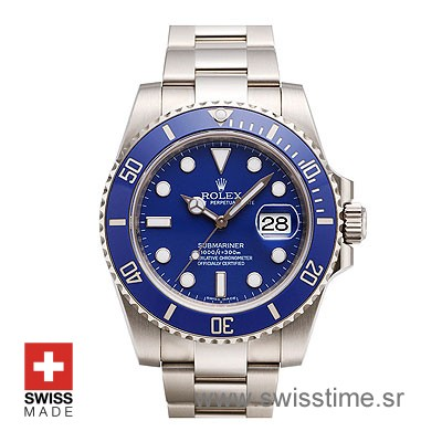 Rolex Submariner SS Blue Ceramic-0