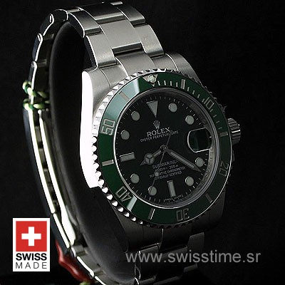 Rolex Submariner SS Green Ceramic-1876