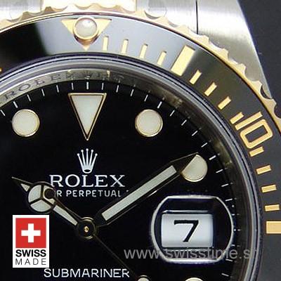 Rolex Submariner 2Tone Black Ceramic Swiss Replica