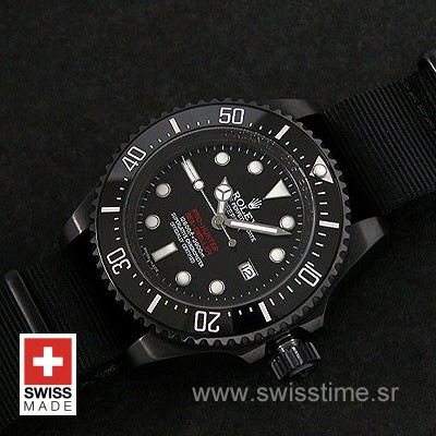 Rolex Deepsea DLC Pro-Hunter Strap-1346