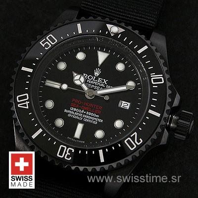 Rolex Deepsea DLC Pro-Hunter Strap-1347