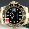 Rolex GMT Master II Gold Black Ceramic-1095