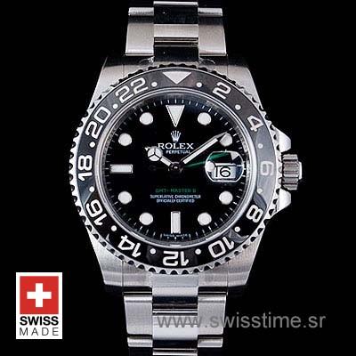 Rolex GMT Master II SS Black Ceramic-1116