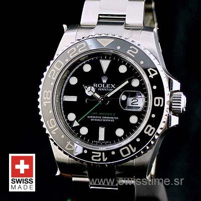 Rolex GMT Master II SS Black Ceramic-1119