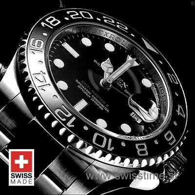 Rolex GMT Master II SS Black Ceramic-1121