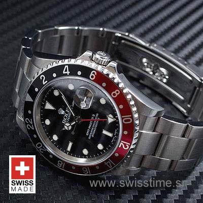 Rolex GMT Master II Red-Black 40mm
