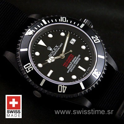 Rolex Sea Dweller DLC Pro-Hunter Strap-1331